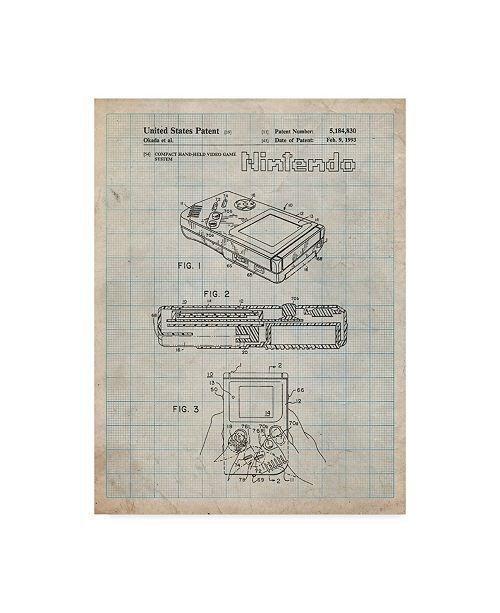 "Trademark Innovations Cole Borders 'Gameboy' Canvas Art - 47"" x 35"" x 2"""