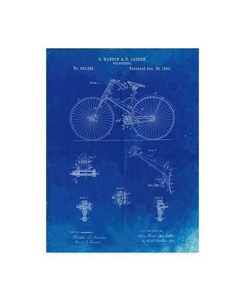 """Trademark Innovations Cole Borders 'Bicycle' Canvas Art - 24"""" x 18"""" x 2"""""""