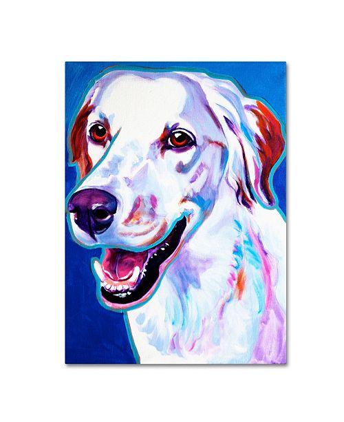 "Trademark Global DawgArt 'Llewellin Setter Cheetah' Canvas Art - 18"" x 24"" x 2"""