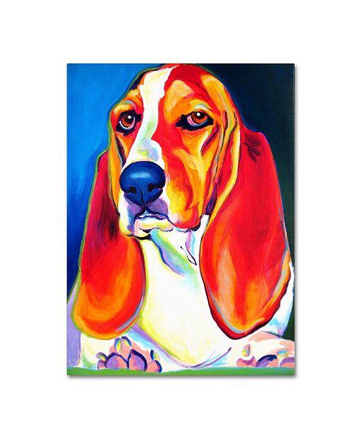 "Trademark Global DawgArt 'Maple' Canvas Art - 19"" x 14"" x 2"""