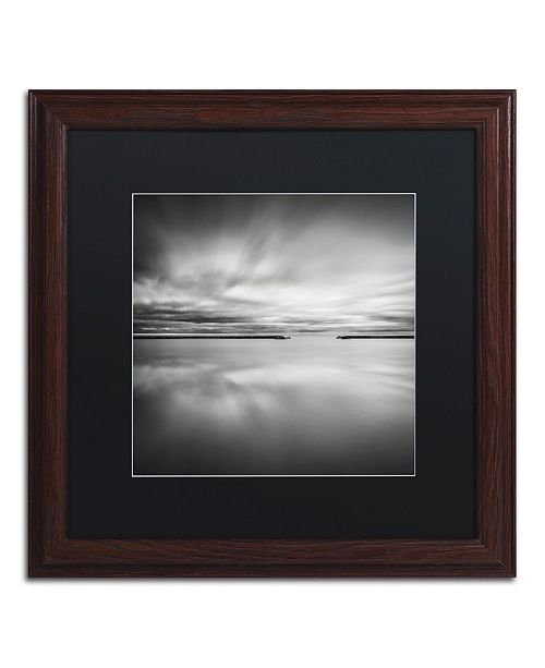 """Trademark Global Dave MacVicar 'Double Vision' Matted Framed Art - 16"""" x 16"""" x 0.5"""""""