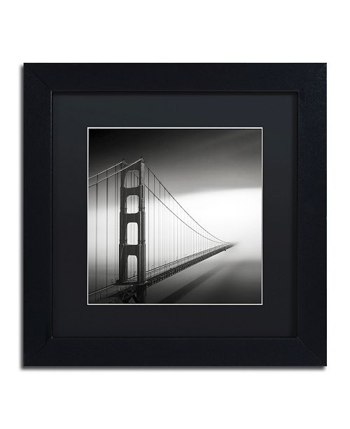 """Trademark Global Dave MacVicar 'Into The Mystic' Matted Framed Art - 11"""" x 11"""" x 0.5"""""""