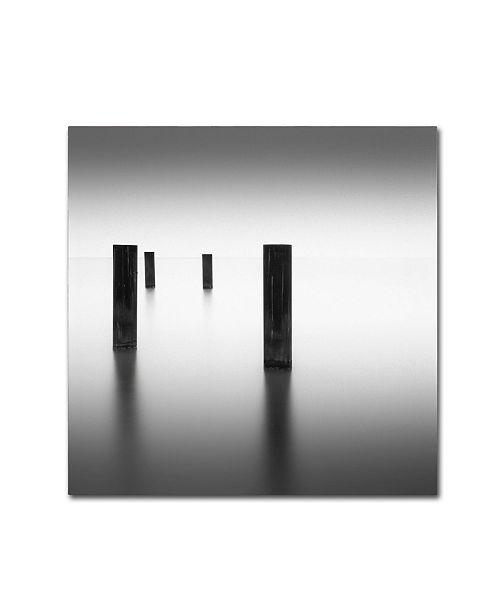 "Trademark Global Dave MacVicar 'Lucid' Canvas Art - 35"" x 35"" x 2"""