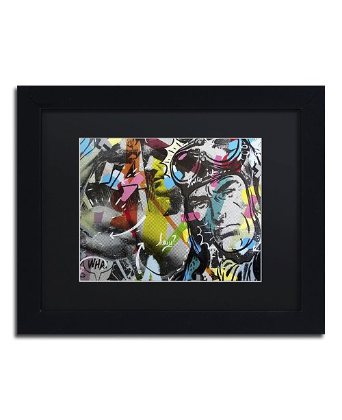 "Trademark Global Dan Monteavaro 'Strongman' Matted Framed Art - 11"" x 14"" x 0.5"""