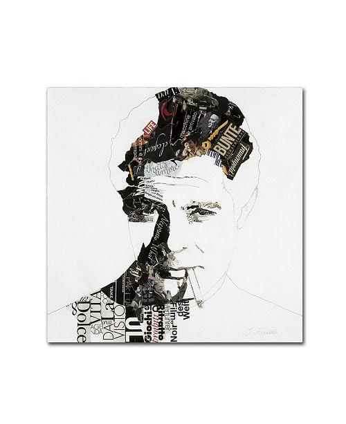 "Trademark Global Ines Kouidis 'Marcello' Canvas Art - 18"" x 18"" x 2"""