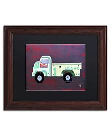 """Design Turnpike 'Pickup Truck' Matted Framed Art - 14"""" x 11"""" x 0.5"""""""