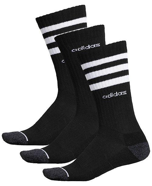 adidas Men's 3-Pk. Crew Socks