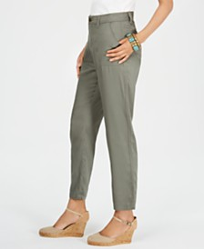 Style & Co Tapered Utility Pants, Created for Macy's