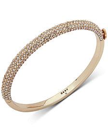 DKNY Ombré Pavé Bangle Bracelet, Created for Macy's