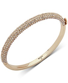 DKNY Ombré Pavé Bangle Bracelet, Created for Macy's