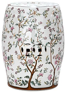 Blooming Tree Garden Stool, Quick Ship