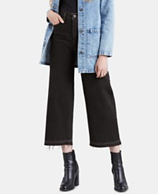 Levi's® Mile High Wide-Leg Cropped Jeans