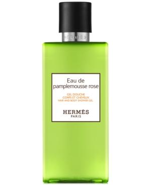 Pre-owned Hermes Eau De Pamplemousse Rose Hair & Body Shower Gel, 6.7-oz.