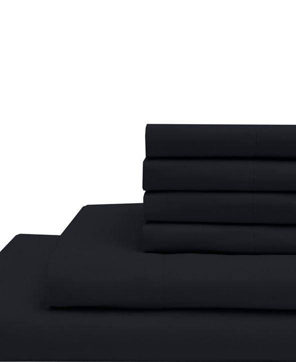 Elite Home Queen Microfiber Solid Bonus Sheet Sets