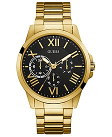 Men's Gold-Tone Stainless Steel Bracelet Watch 46mm