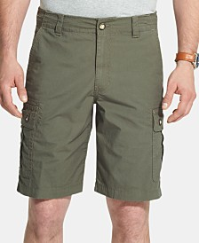 G.H. Bass & Co. Men's Salt Cove Stretch Moisture-Wicking Ripstop Cargo Shorts