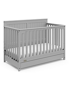 Graco Hadley 4-In-1 Convertible Crib with Drawer