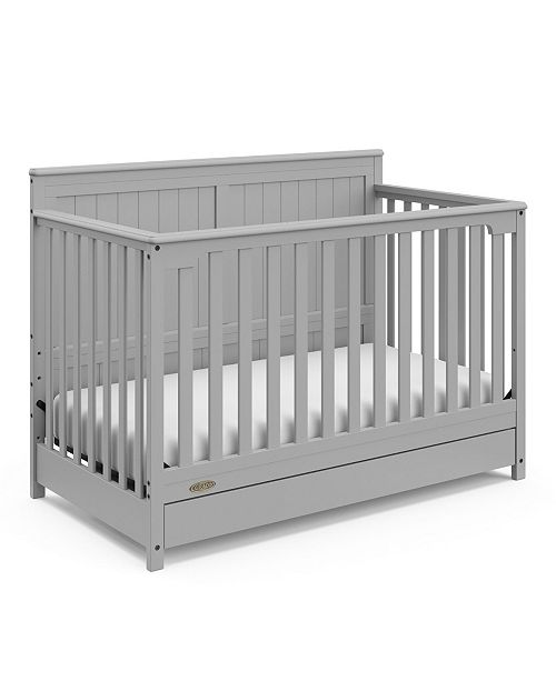 Hadley 4-In-1 Convertible Crib with Drawer