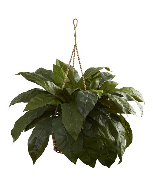 Nearly Natural Double Giant Birds nest Hanging Basket