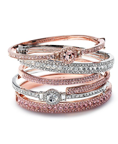 Givenchy Crystal Bangle Collection