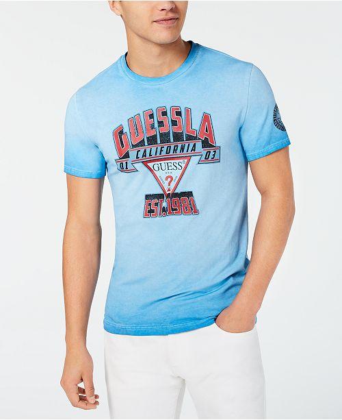 GUESS Men's Slam Dunk Graphic T-Shirt