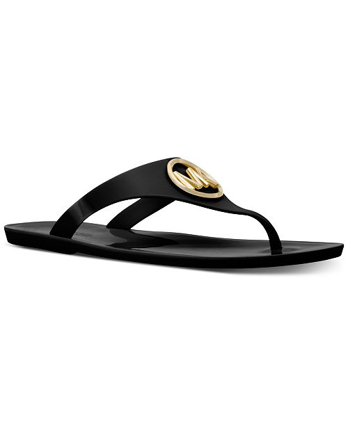 408c83dbb Michael Kors Lillie Jelly Thong Sandals   Reviews - Sandals   Flip ...
