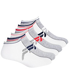 6-Pk. Logo Quarter Socks