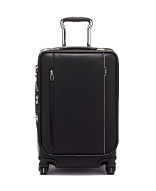 Tumi Arrive' International Leather Dual Access 4 Wheeled Carry-On Luggage