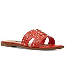 Nine West Genesia Studded Slide Sandals