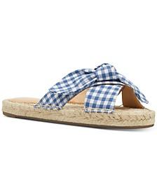 Nine West Brielle Knotted Espadrille Sandals