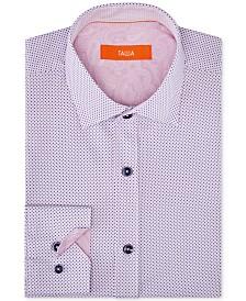 Tallia Orange Men's Slim-Fit Performance Stretch Mini Dot Dress Shirt