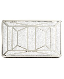 I.N.C. Ayda Sparkle Box Clutch, Created for Macy's