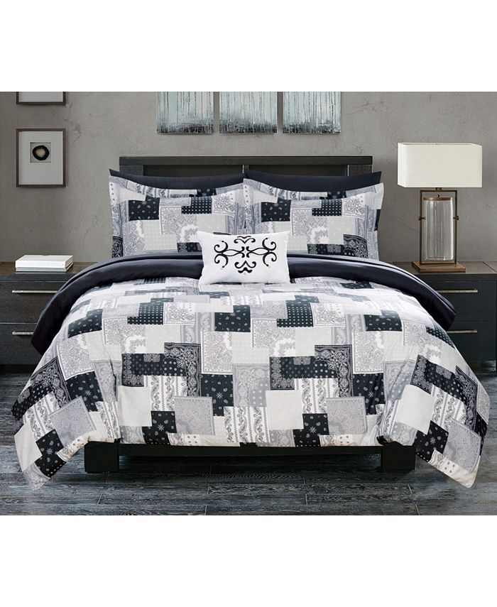 Chic Home - Millennia 8-Pc. Bed In a Bag Comforter Sets
