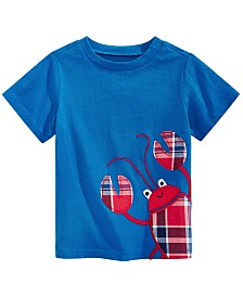 First Impressions Baby Boys Plaid Crab Graphic T-Shirt, Created for Macy's