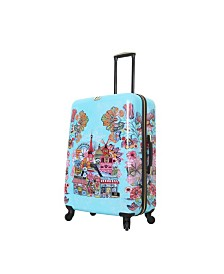 "Halina Car Pintos Ohalina La La 28"" Hard Side Spinner Suitcase"
