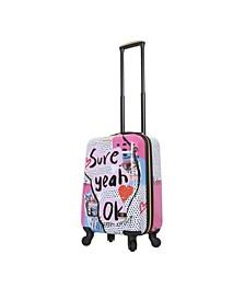 """Nikki Chalinau Sure 20"""" Hardside Spinner Luggage"""
