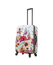 "Collier Campbell Secret Garden 24"" Hardside Spinner Luggage"