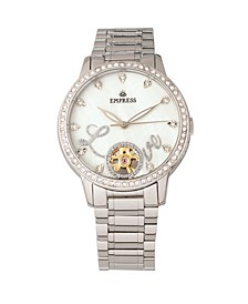 Quinn Automatic Silver Stainless Steel Watch 41mm