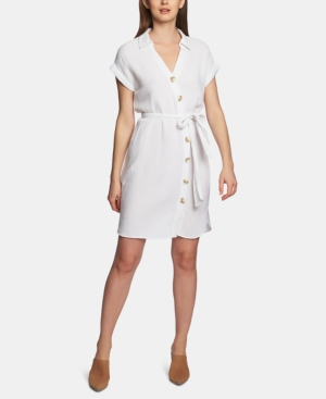 Image of 1.state Asymmetrical Button-Up Dress