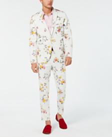 I.N.C. Men's Slim-Fit Floral Blazer, Created for Macy's