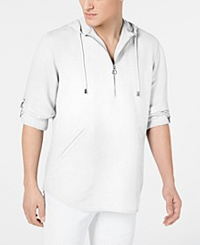 INC Men's Half-Zip Hoodie, Created for Macy's