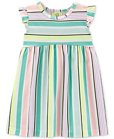Carter's Baby Girls Striped Cotton Dress