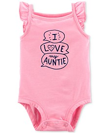 Carter's Baby Girls Love My Auntie Bodysuit