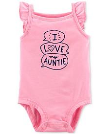 Carter's Baby Girls Love My Auntie Bodysuit