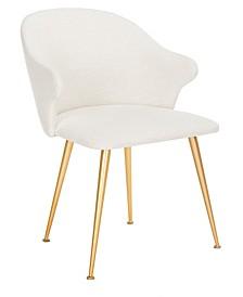 Edmond Linen Blend Arm Chair