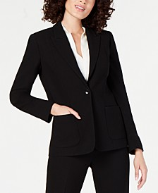 Wendy One-Button Blazer
