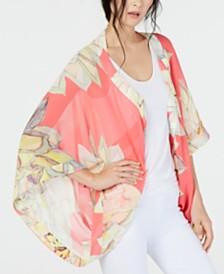 Trina Turk Printed Sheer Kimono