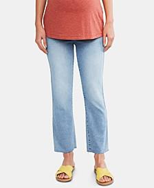 Maternity Straight-Leg Jeans