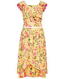 Beautees Big Girls 2-Pc. Floral-Print Dress