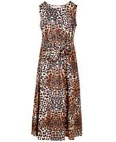 3343a7eb6d4 Beautees Big Girls Front-Tie Maxi Dress
